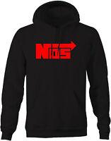 Hoodie Men -NOS Nitrous Racing Mens