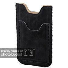 Hama móvil-bolso para LG Optimus l3 II, negro universal funda PROTECTORA CUERO