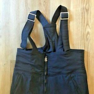 Vintage Bogner Ski Snow Suit Overalls Dark Blue Navy Men's 36 Long USA