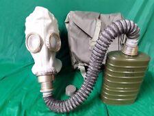 Polish OM-14 Size 3 (Large) Gas Mask Military Surplus w/Bag Hose & Filter OM14