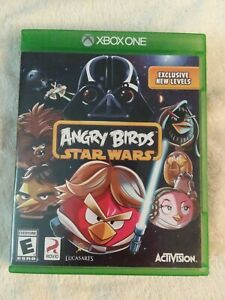 Angry Birds Star Wars (Microsoft Xbox One, 2013) Video Game *No Guide*