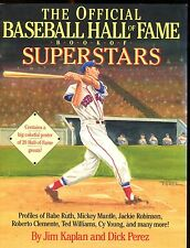 1989 Baseball Hall Of Fame Book Of Superstars Ted Williams EX 012617jhe