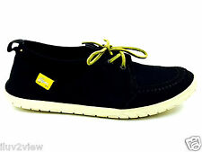 Lacoste black Suede and  Stretch Men's Lace up shoe Size 8 USA