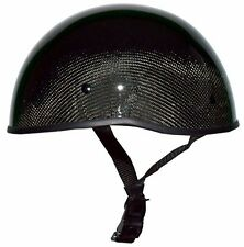 Crazy Al's WORLD'S SMALLEST LIGHTEST DOT SOA HELMET GLOSS CARBONATOR SMALL