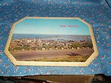 "ksm. Duluth Minn Vintage Picture Wide View  Fibre Board Vintage 6 3/4  x 9 3/4"""