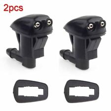 2pieces  Front Windshield Washer Wiper Spray Nozzle