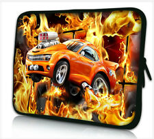 "15""-15.6"" LAPTOP SLEEVE CARRY CASE BAG FOR DELL APPLE ALL MAKES*car in flames*"