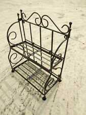 Wrought Iron Bathroom Rack Ashu Industries Keeping Storage House