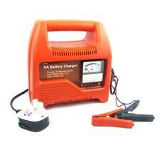 12V Cargador de batería de coche 6 Amp Compacto Portátil Cargador de batería para coches y furgonetas