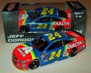 Jeff Gordon 2015 Axalta Retro Rainbow #24 Hendrick Chevy SS 1/64 NASCAR Diecast