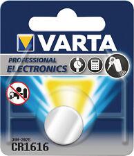 2x Varta CR1616 Knopfzelle 1er Blister 3V Batterie Lithium CR 1616 VCR1616