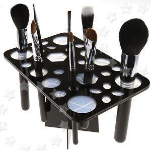 28 Hole Makeup Brushes Holders Dry Brushes Folding Drying Rack Hanging