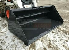 Bobcat 100 Snow Litter Bucket For Skid Steers Amp Track Loaders Ssl Quick Attach