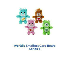 Worlds Smallest Care Bears Series 2 Tenderheart Bear Ty7