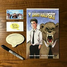 """""""The Office"""" used prop sharpie +Sticky Quips and Adventures of Jim Halpert comic"""