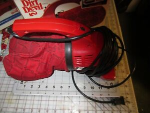 Royal Dirt Devil Hand Vac Vacuum Model 103 Tested with Manual and Box LONG CORD