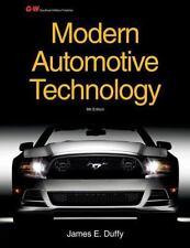 MODERN AUTOMOTIVE TECHNOLOGY - NEW PAPERBACK BOOK