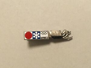 1972 SAPPORO OLYMPIC JAPAN BOBSLEIGH TEAM TIE PIN