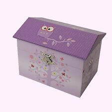 GORGEOUS Owl Musical Jewellery Box Twinkle Twinkle Tune Birthday Girl's Gift