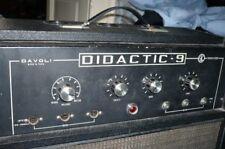 davoli didactic 9 vintage valvolare  in classe A