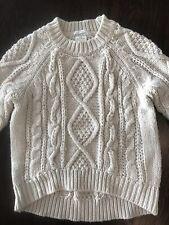 Zara Beige Sweater Girls Size 8. GREAT CONDITION