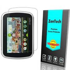 2X ZenTech Clear Screen Protector Guard Shield Armor Cover For Leapfrog Epic 7