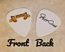 ALABAMA band Logo JEFF COOK signature guitar pick  -(JC-W)