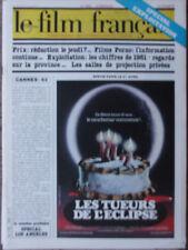Le Film Français N°1893 (12 mars 1982) Spécial Exploitation - Salles privées