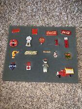 18 Vintage Lot-  Coca Cola Pins