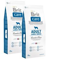 2x12kg Brit Care Adult Large Breed Lamb & Rice  Super-Premium  Hundefutter