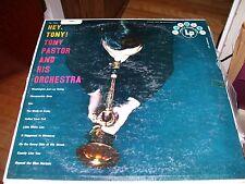TONY PASTOR AND HIS ORCHESTRA-HEY TONY!-LP-VG+COLUMBIA HARMONY-JAZZ