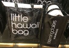 "Hawaii BLOOMINGDALE'S Little Brown ""Hawaii"" Bag Bloomie's Vinyl Plastic"