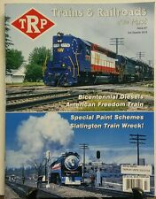 Trains & Railroads of the Past Issue 7 Bicentennial Diesels FREE SHIPPING sb