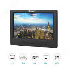 "Eyoyo 7"" inch Monitor 16:9 1024*600 HDMI BNC VGA For CCTV DVR PC Security Camera"