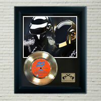 "Daft Punk ""Da Funk"" Framed Record Display"