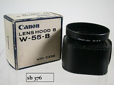 Original Canon BW-55 B 2.8/24 SSC Sonnenblende Lens Shade Hood with Case (5)