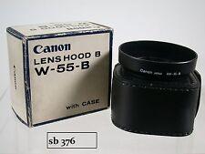 Original Canon BW-55 B 2.8/24 SSC Sonnenblende Lens Shade Hood with Case (5)