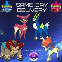 Pokémon Sword Shield | Shiny Legendary Sword of Justice | Perfect IVS | Shiny