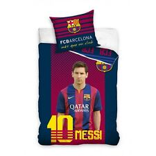 POŚCIEL BARCELONA MESSI BEDDING COVER SET BARCELONA 160X200CM OFFICIAL PRODUCT