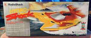 RadioShack  Hydro-Shock RC Supercharged Speed Boat , Brand New in Box 60-4263