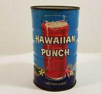 Vintage Hawaiian Punch Tin Can 1961 14 fl oz Empty