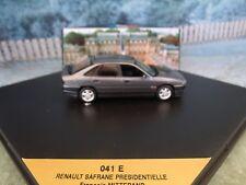 1/43 Vitesse (Portugal) Renault safrane presidentielle Francois Mitterand 1981-5