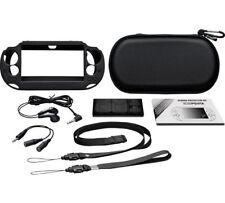 PS Vita Slim Essentials paquete de transporte y proteger tu consola de juegos y memoria