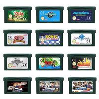 GBA GBC Video Game Cartridge Console Card Pokemon Zelda Castlevan Korean languag