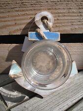 Maritime Deko Anker mit Teelichthalter Meer Sonne Strand Wasser Shabby Urlaub