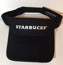 23011b23b31 Starbucks Visor Barista Black White One Size