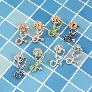 Cartoon Brooch Stethoscope Enamel Pins Badge Doctor Nurse Jewelry Lady Medical