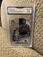 Eric Paschall Rookie Introductions Silver Prizm 2019 Mosaic Graded 10 Warriors