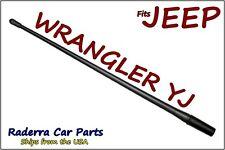 "FITS: 1987-1996 Jeep Wrangler YJ - 13"" SHORT Custom Flexible Rubber Antenna Mast"