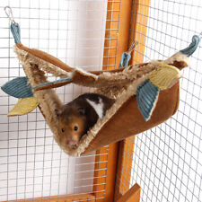Pet Hamster Ferret Rat Squirrel Hammock Hanging Cage Nest Bed House Toys GIFT